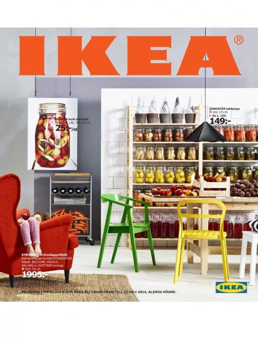 Ikea Kok Inspiration 2014 : Idag den 14 augusti or det svensk premior for Ikeas nya katalog
