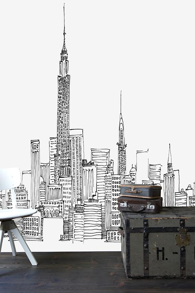 Avery-Tilmon-New-York-Skyline-Photowall