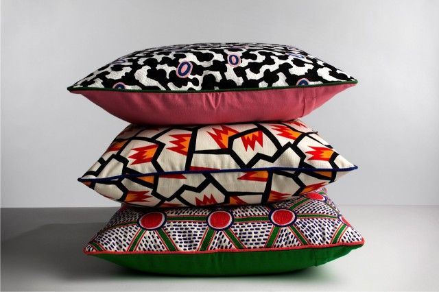 WH Nathalie du Pasquier Fabric Cushions 01-2