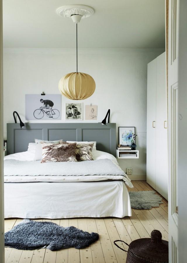 sovrum,säng,sänggavel,sänggavel dörr,kalklitir  HOME // Bedroom ...