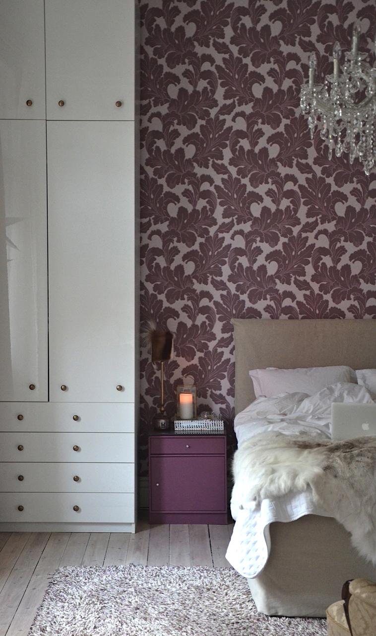 Inredningshjälpen: vintervitt i sovrummet