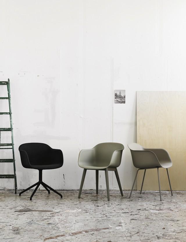 Fiber_chair_family_three_green_ladder