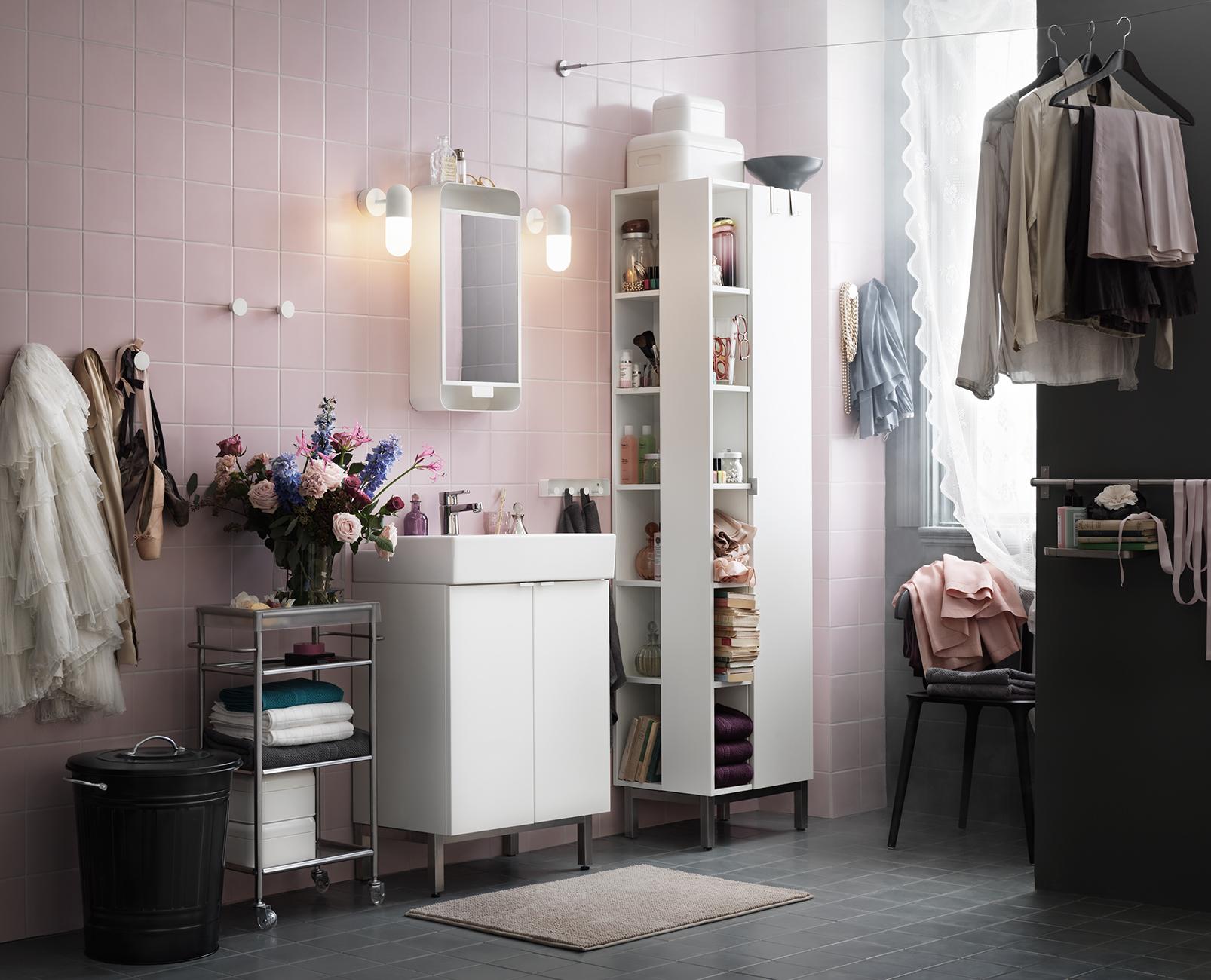 Inredningshjälpen: badrumsinspiration från ikea