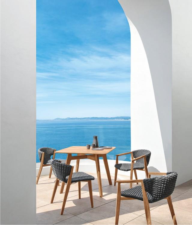 Knit_tavolo e sedie_poltroncine dining