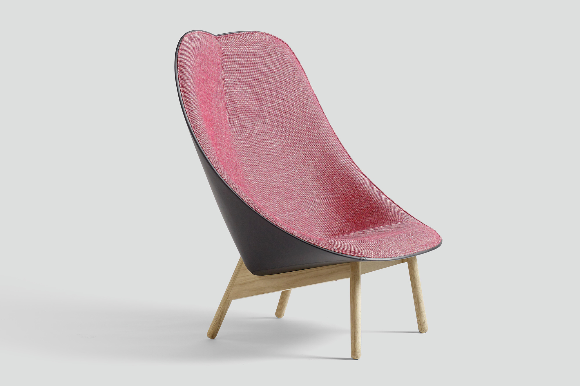 inredningshj lpen hay uchiwa lounge chair by doshi levien. Black Bedroom Furniture Sets. Home Design Ideas