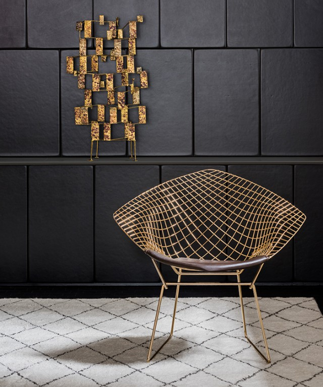 Diamond Chair Gold