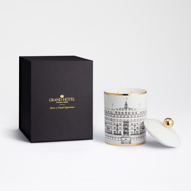 Grand Hotel  lanserar lyxigt doftljus