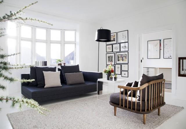 Grafiskt svartvitt och dansk design