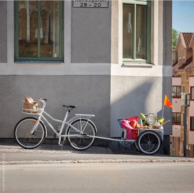 IKEA lanserar cykeln SLADDA