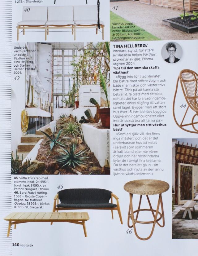 Ethimo  i senaste numret av Residence Magazine