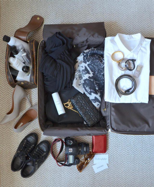 Packar för Paris