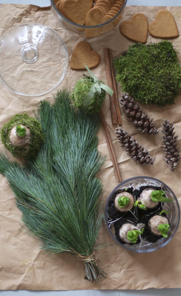 Julens naturliga gröna