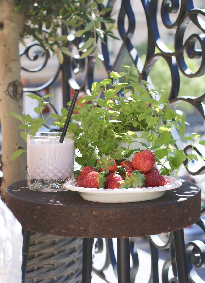 Frukost på balkongen