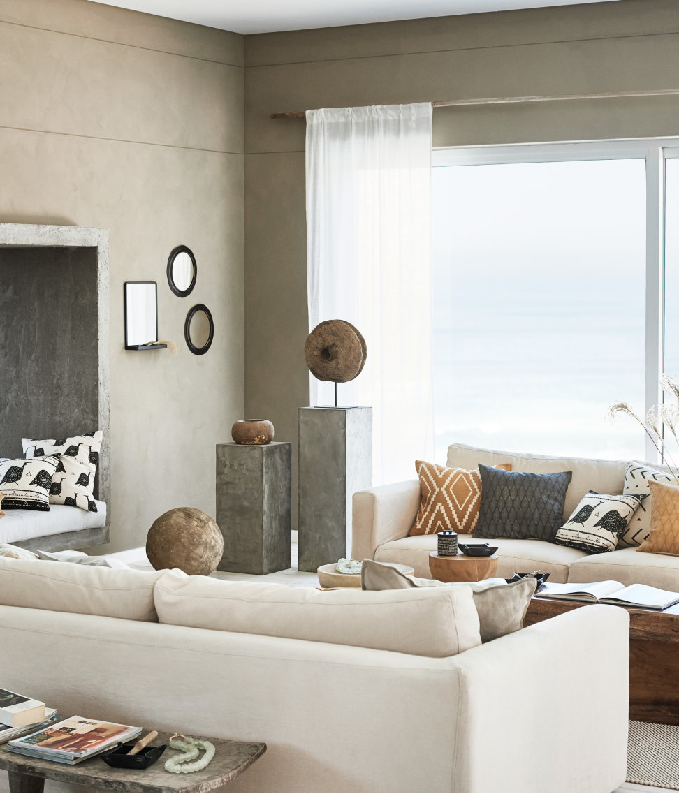 Modernt med naturlig touch hos H&M Home