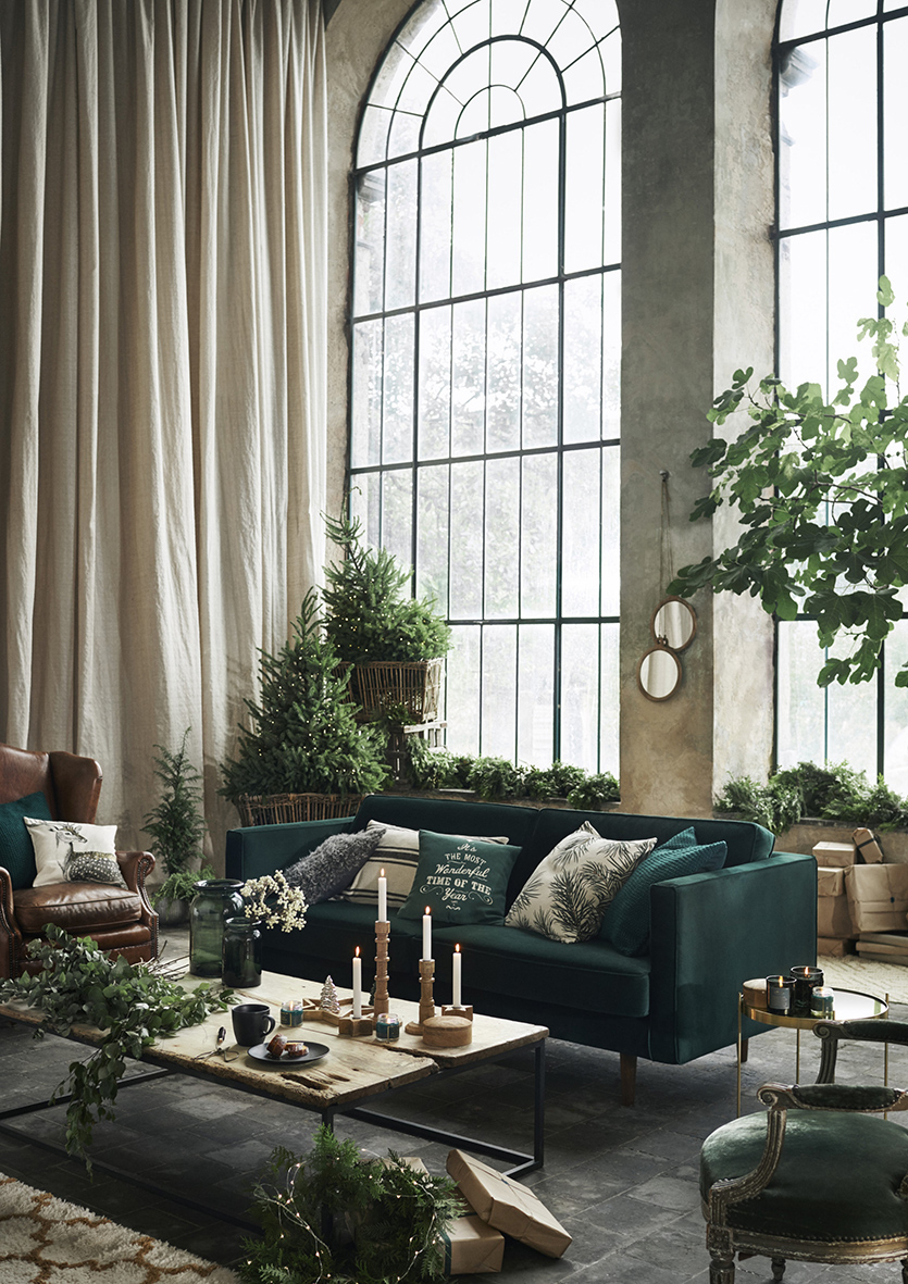 Inredningshj lpen h m home christmas 2017 - H and m home ...
