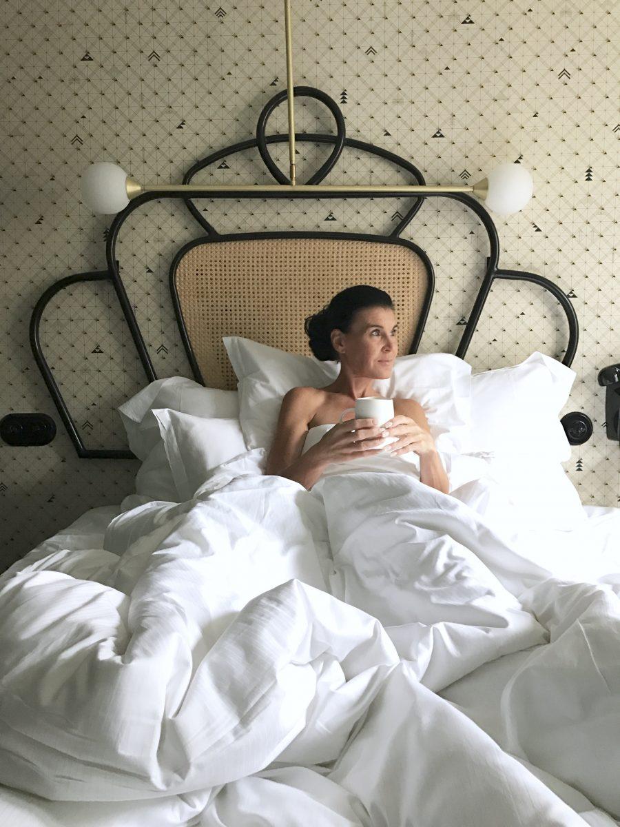 Att vakna på Hotel Panache