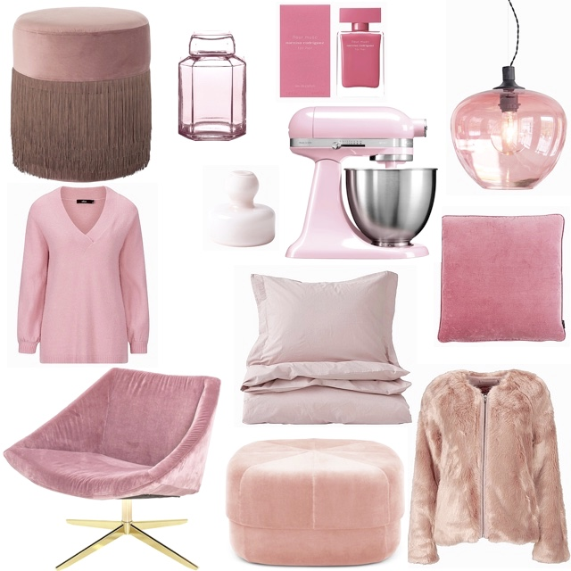 Paris (sorry) Pink is always a good idea!
