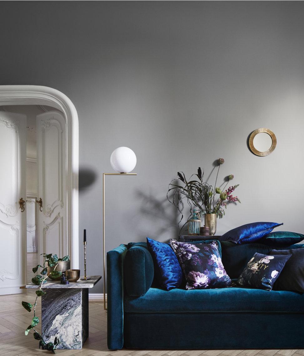 H&M Home -fina höstnyheter i blått och grått