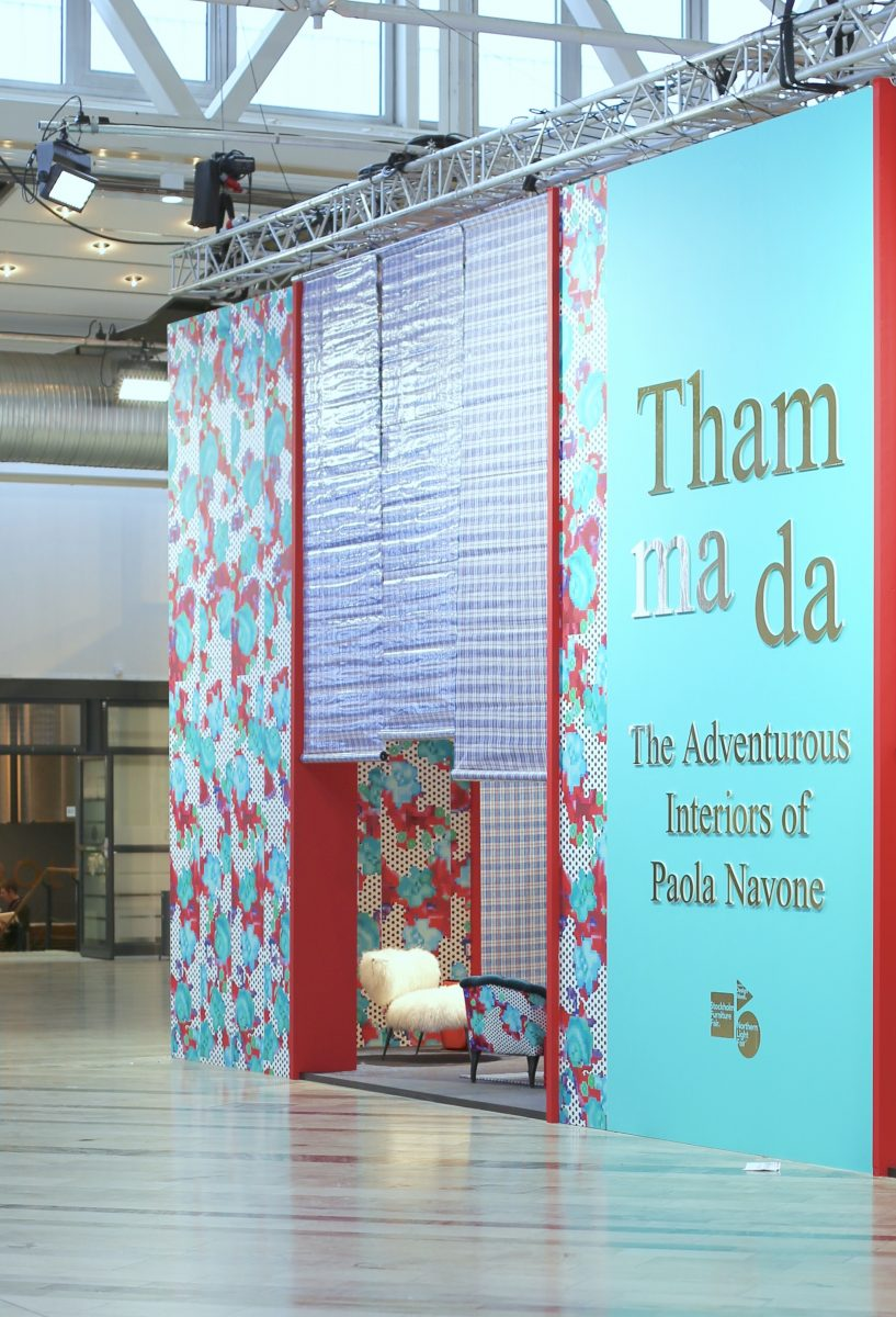 Stockholmfurniture Fair 2018 – Paola Navone