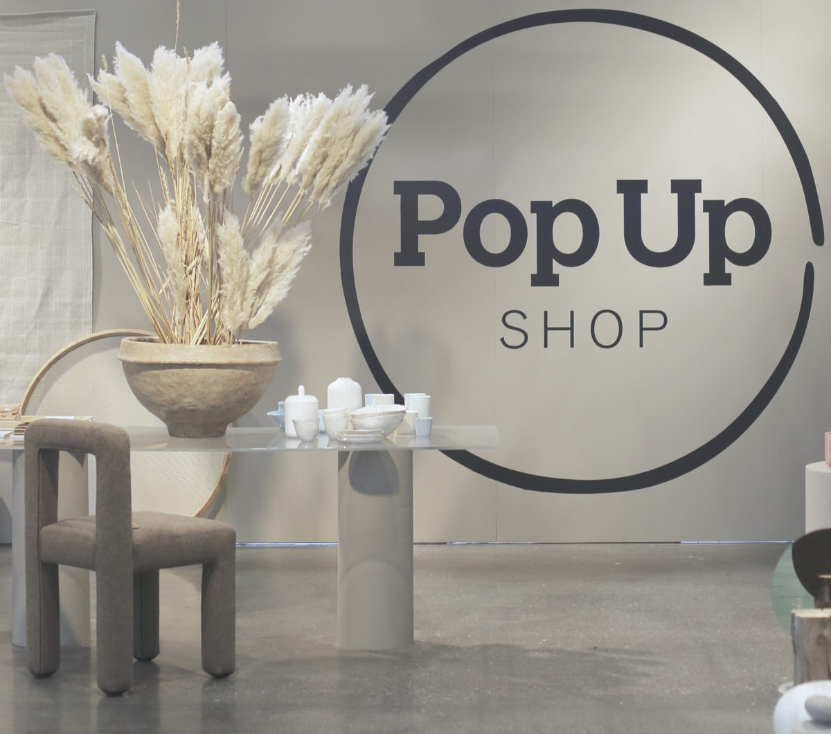Pop Up Shop  på Stockholm Furniture Fair 2018
