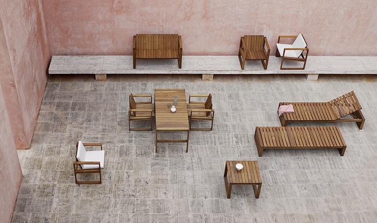 Carl Hansen & Son lanserar kollektion med utemöbler