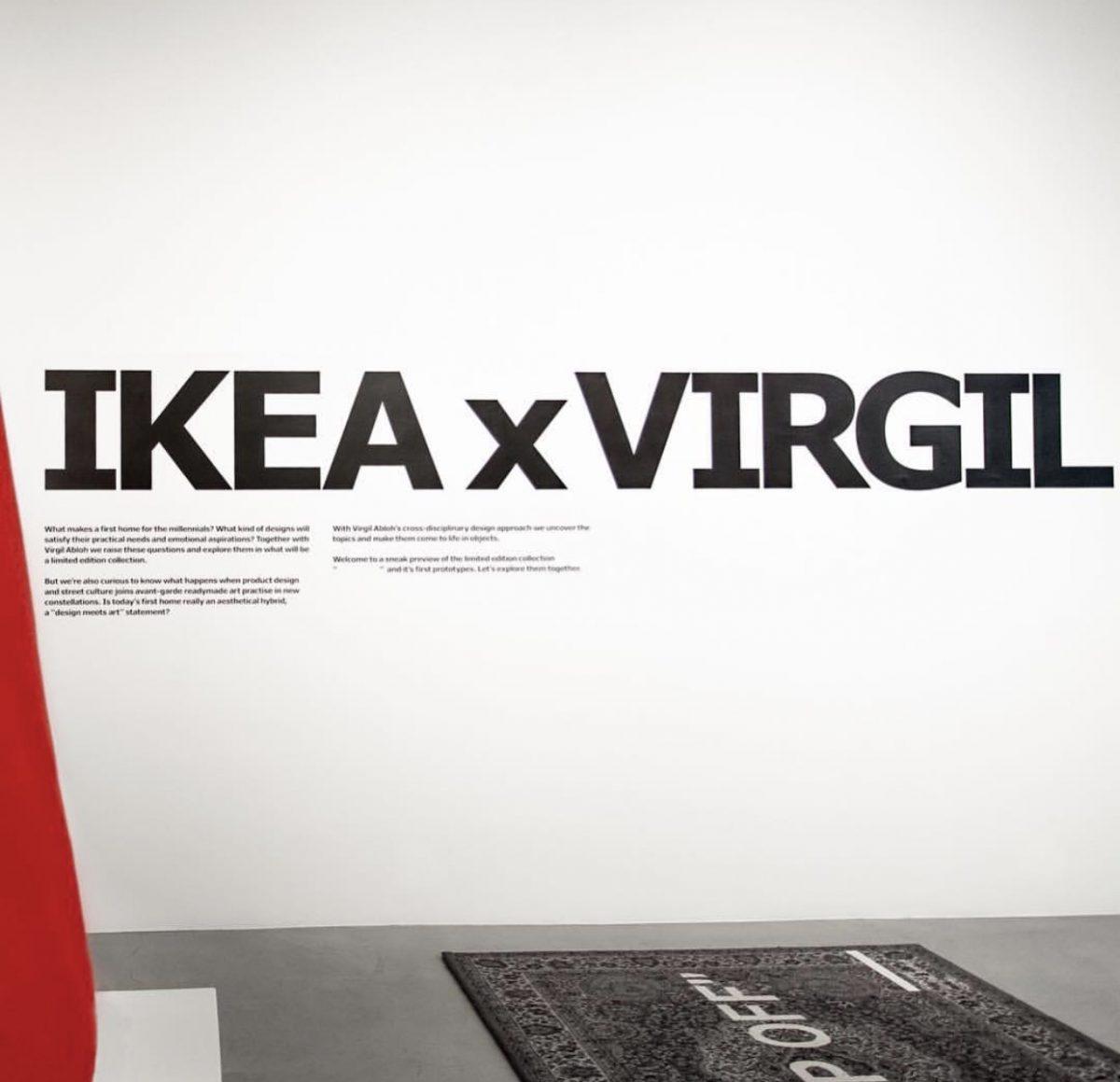 """IKEA + Virgil Abloh """"en liten tjuvkik"""""""