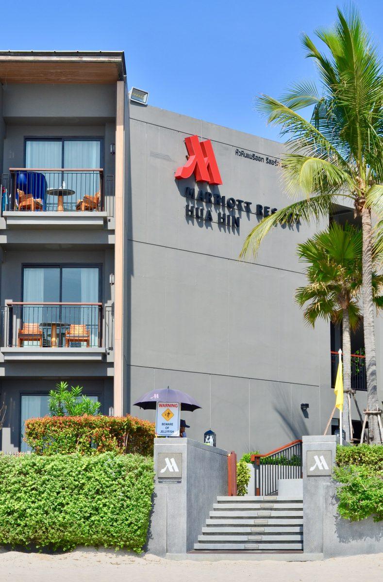 Baddagar på Marriott Hua Hin