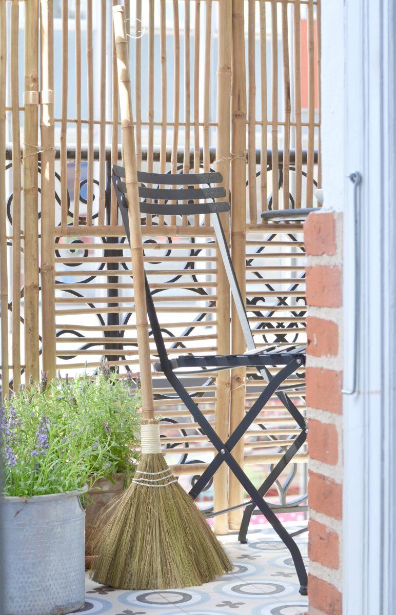 Nytt på vår balkong