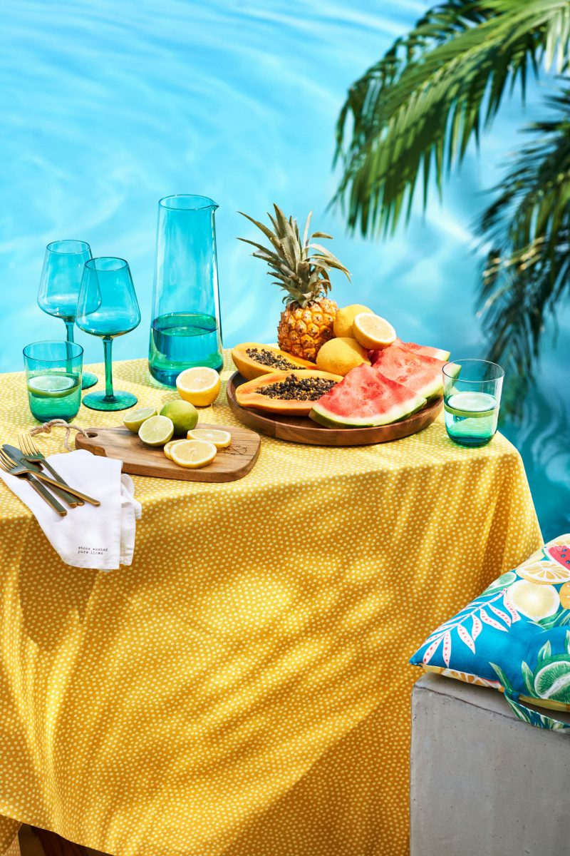 H&M Home med Tropical Touch