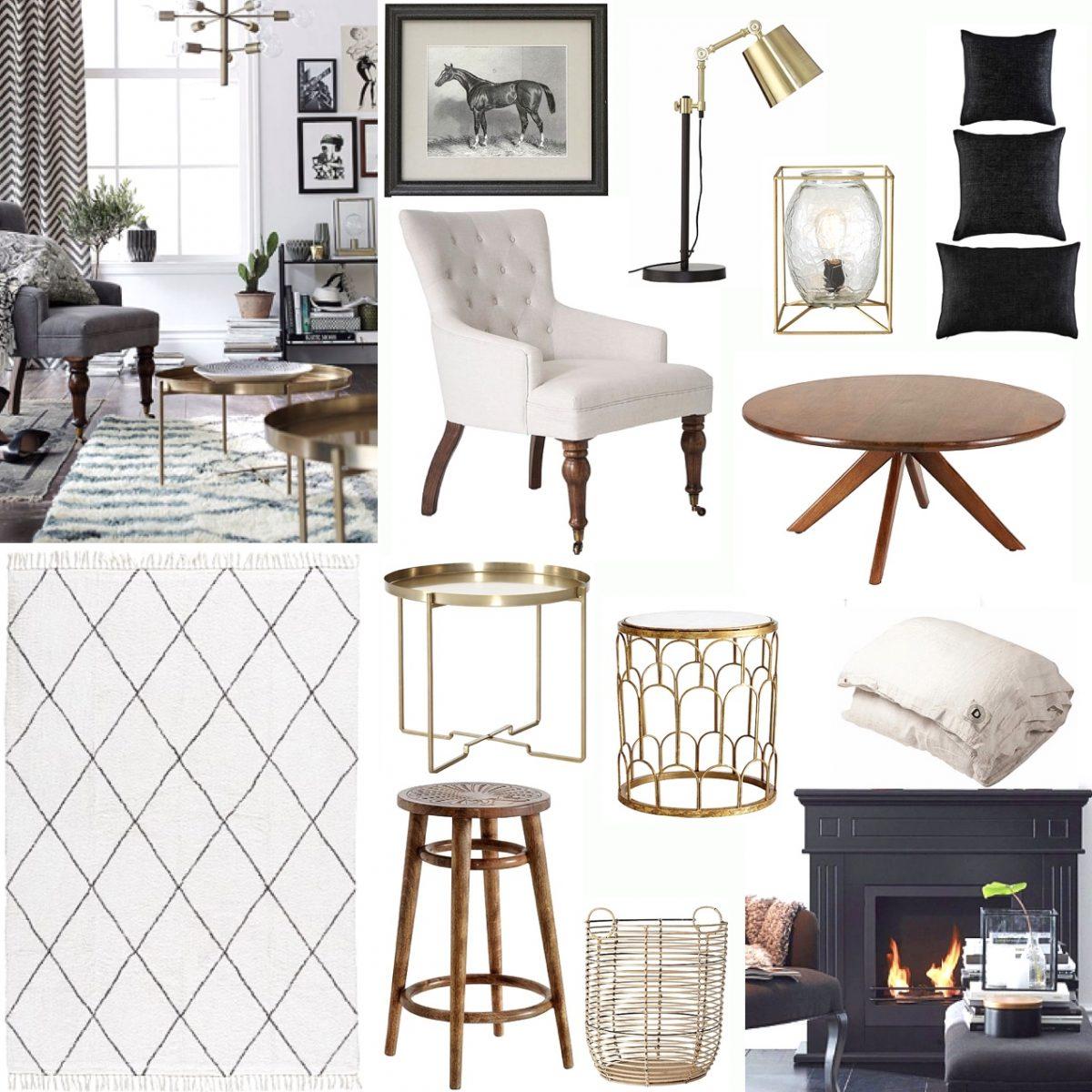 Fina möbler och belysning på REA