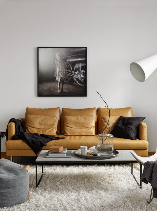 KAJEN_4_STIL_INSPIRATION_inredning_leather_sofa_concrete_table