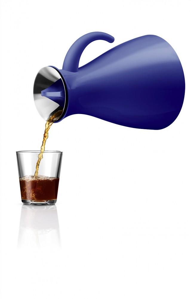 Vacuum Jug 1.0l low tea pouring Electric blue 502947