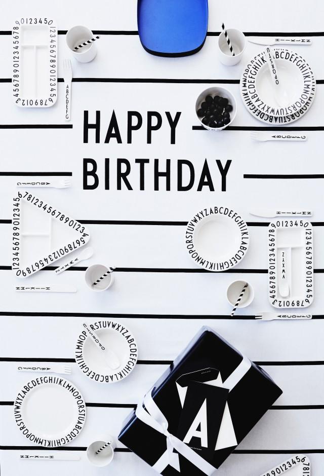 Happy Birthday cloth