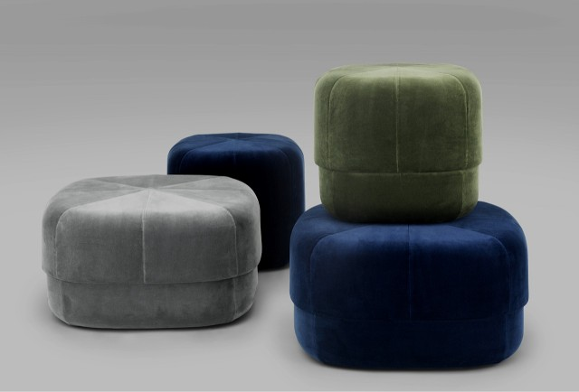 6010_Circus_Pouf_Small&Large_Velour_2_grey