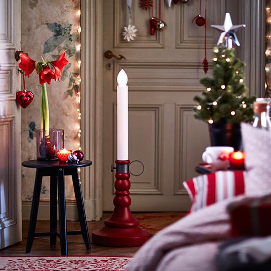 ikea-julen-2016-strala-led-ljusstake