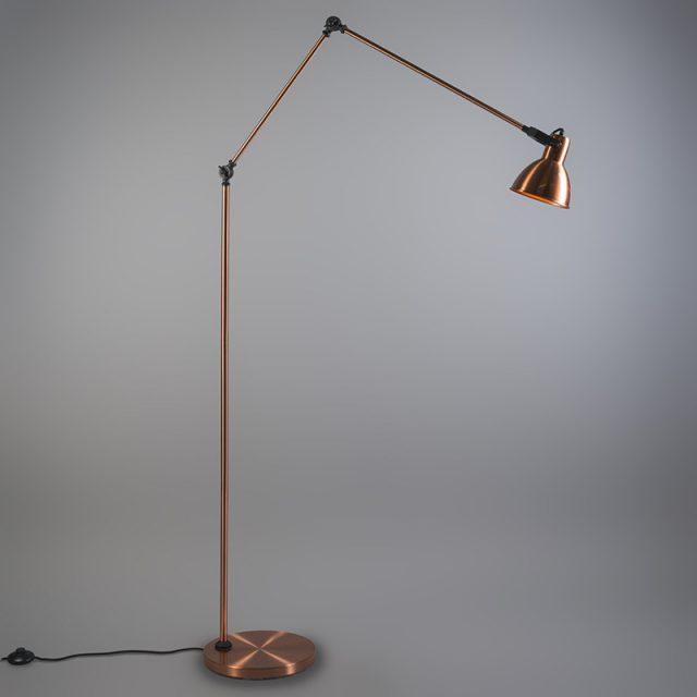 Golvlampa-i-h--jd-justerbar--Dazzle--Moderna-koppar---Passande-f--r-LED---Inomhus--2