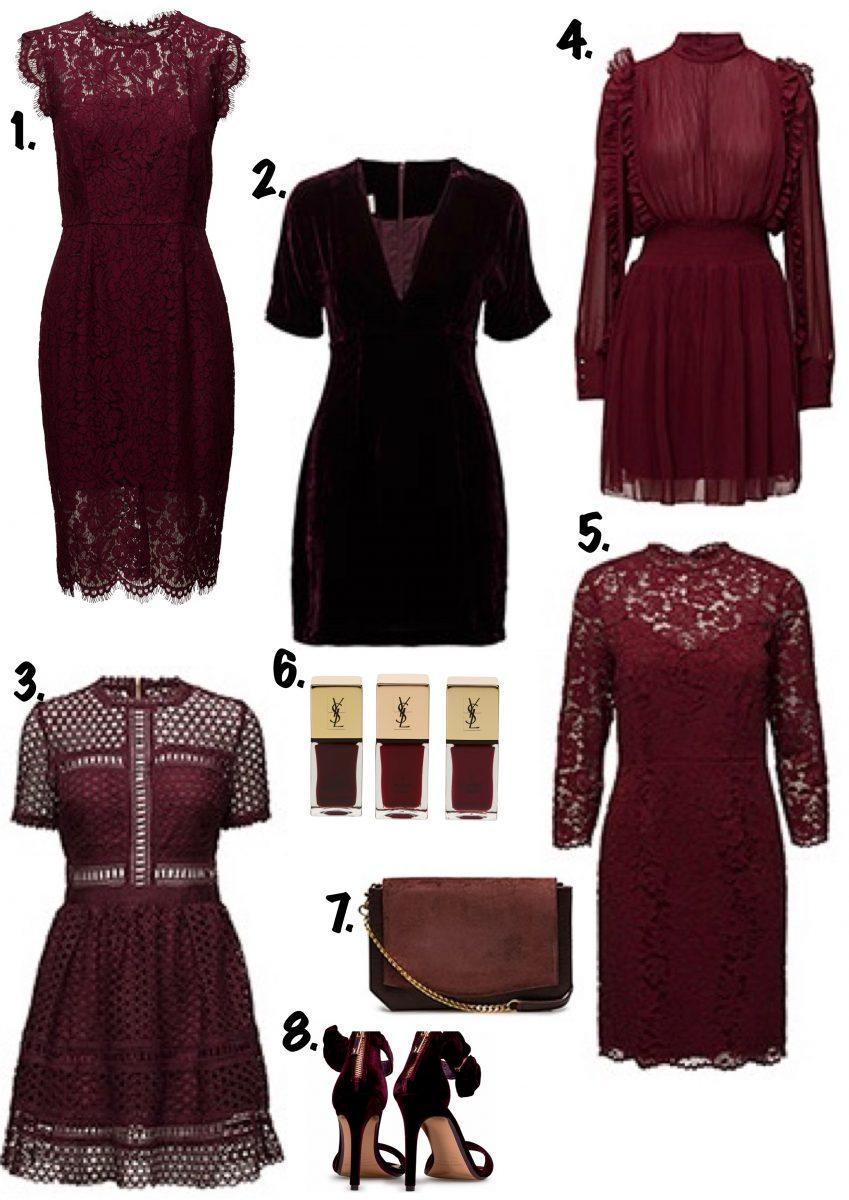 5bea4163c434 Sammetsklänning By Malina med 40% rabatt //3.Emily Dress By Malina //4. Klänning från Designers Remix HÄR //5.Spetsklänning med ärm Esprit  Collection //6.