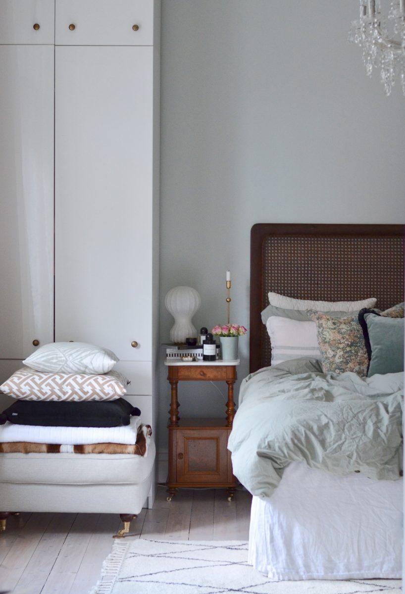 Den nya fina sänggaveln