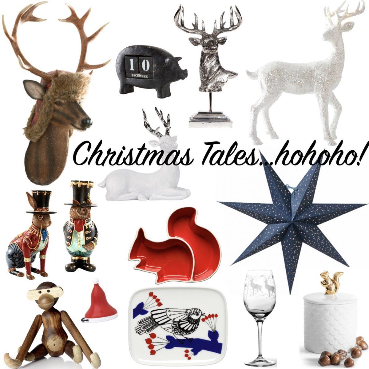 Sätt djurtema på julen