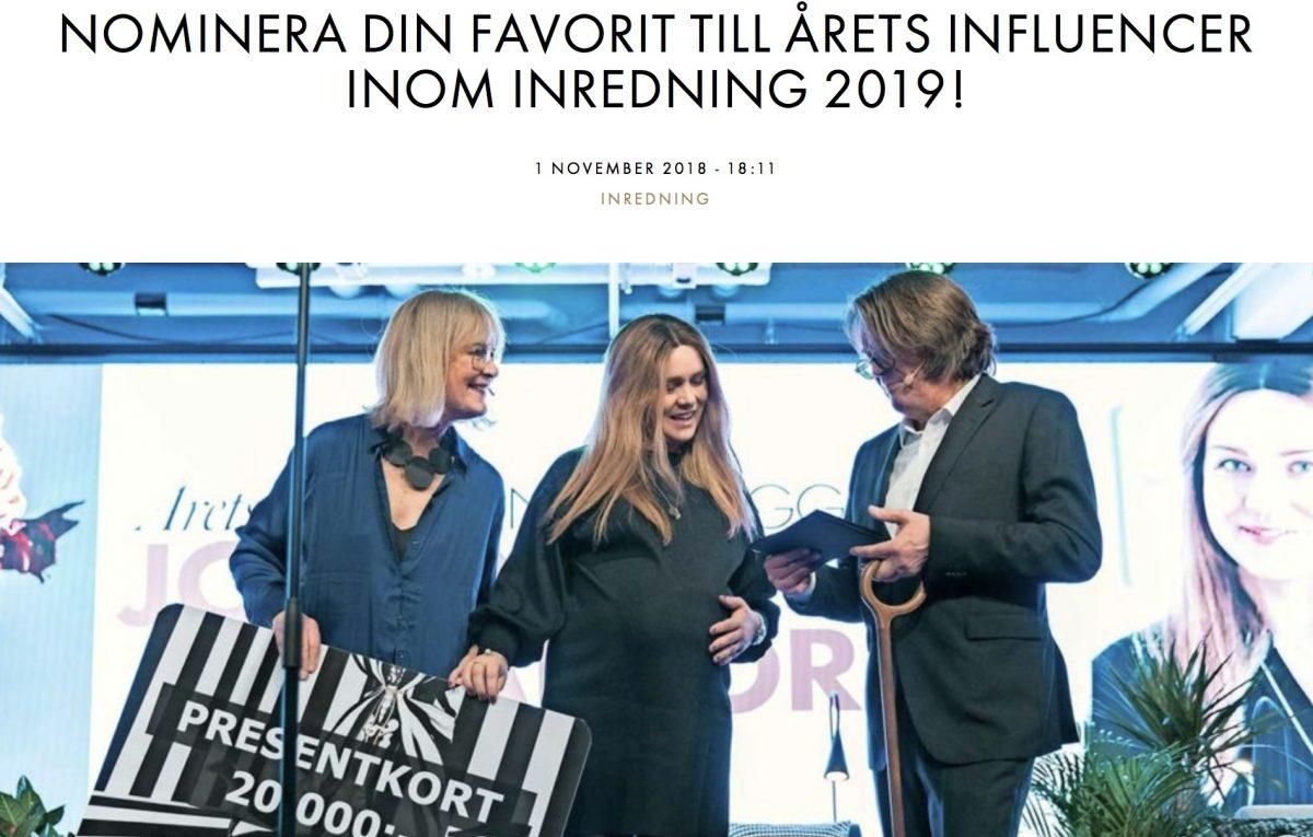 Inredningsnyheterna v.45 /2018