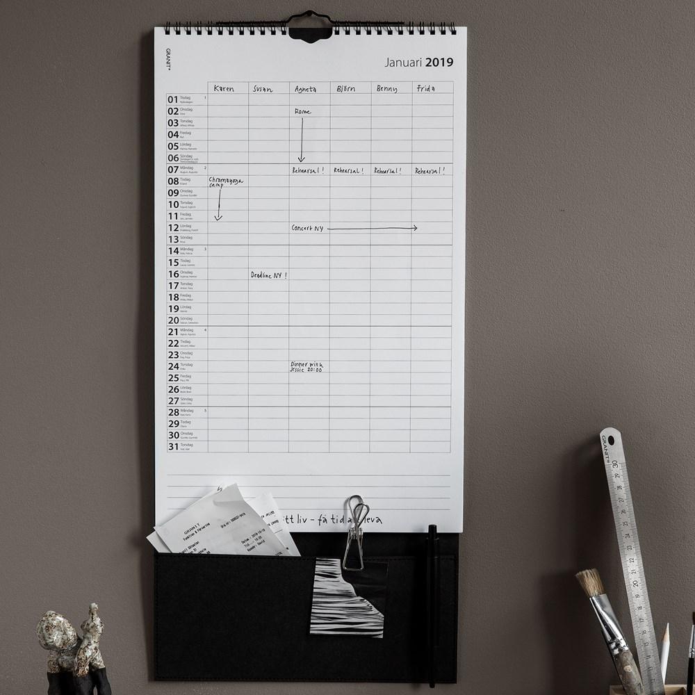 Organisera ditt 2019 med hjälp av Granit