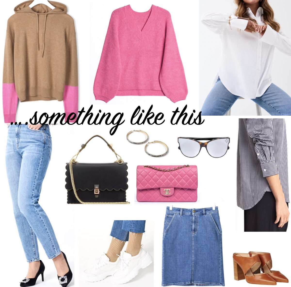 Spring fashion with jeans