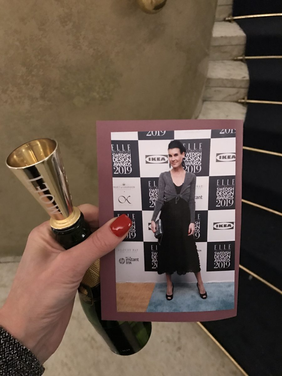 Elle Decoration Swedish Design Award 2019