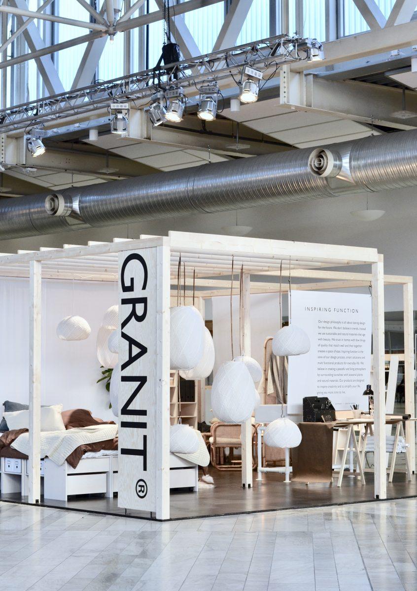 Stockholm Furniture Fair 2019 – Granit SS19