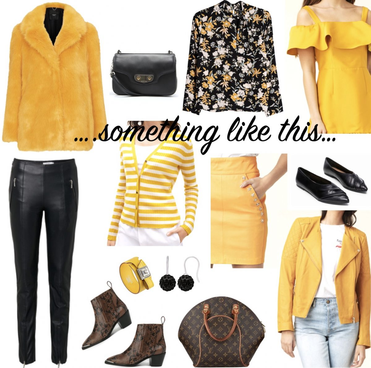 Add some yellow….