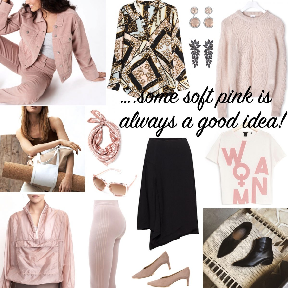Saturday's Soft Pink